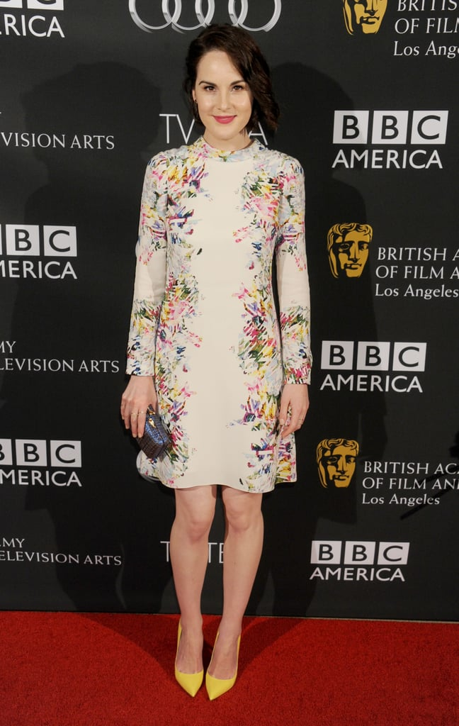This sweet floral dress hit all the right style notes on the red carpet.