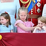 Princess Charlotte, Savannah Phillips, and Prince George