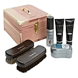 Synovia Shoe Care Kit & Deluxe Cedar Box