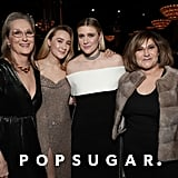 Meryl Streep, Saoirse Ronan, Greta Gerwig, and Amy Pascal at the 2020 Golden Globes