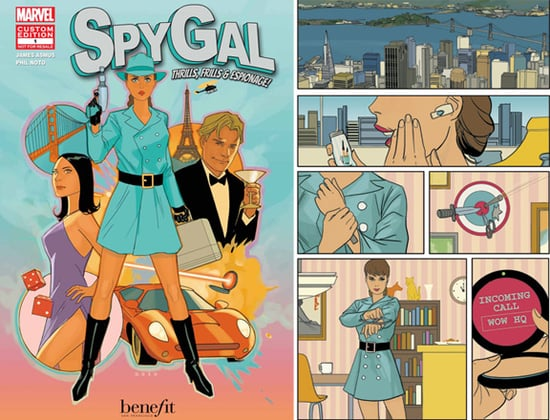 Benefit and Marvel Team Up to Create Beauty's First Comic Book Hero