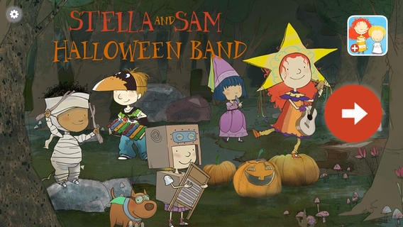 Stella and Sam Halloween Band