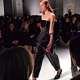 Calvin Klein was as minimalist-cool as ever.