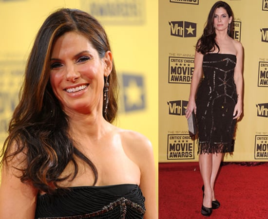 Sandra Bullock at 2010 Critics' Choice Awards 2010-01-15 18:32:48