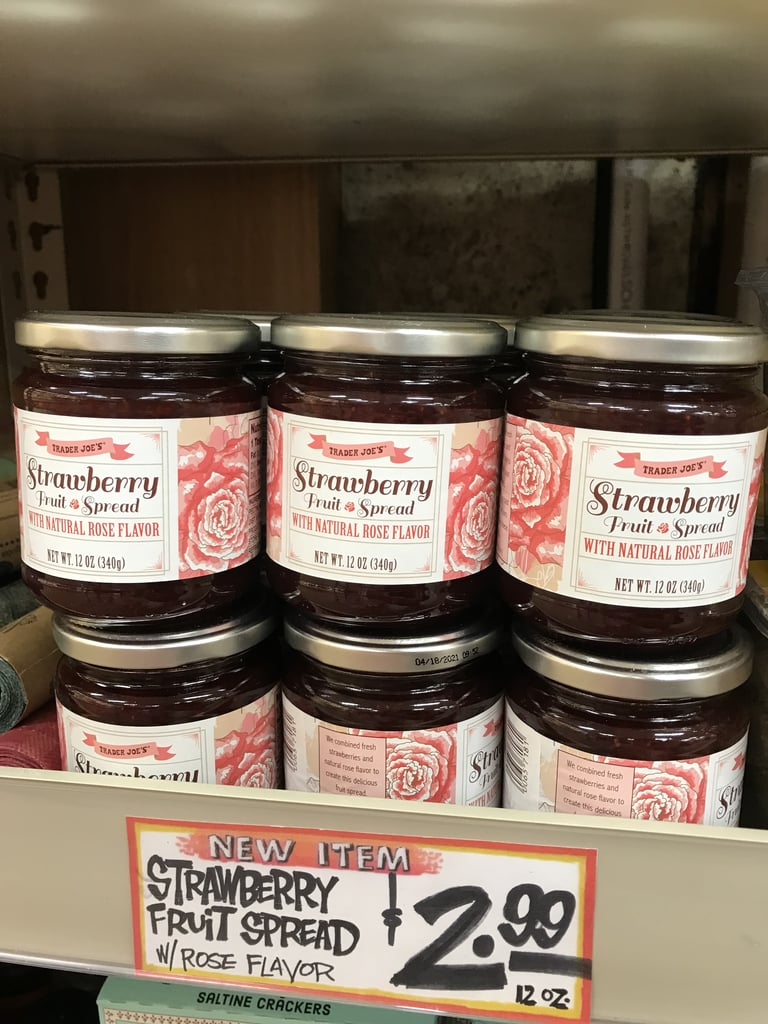 Trader Joe's Strawberry Fruit Spread With Natural Rose Flavor ($3)