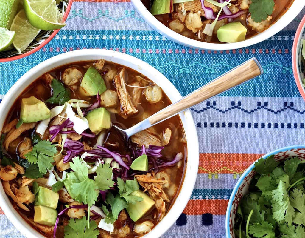 Fast and Easy Chicken Posole