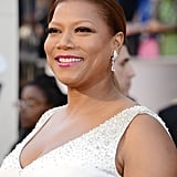 Queen Latifah on the red carpet at the Oscars 2013.