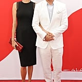 Bruce Willis walked the red carpet with his wife, Emma Heming Willis.