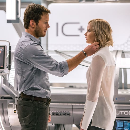 Chris Pratt and Jennifer Lawrence Talk About Passengers Kiss