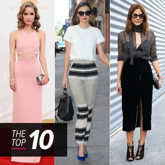 Top 10 Best Dressed Of The Week: Black, White And Pink All Over