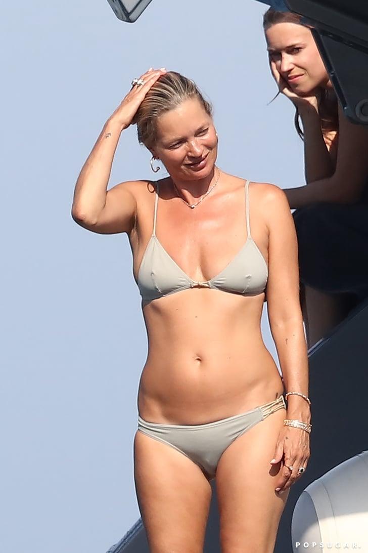 Kate moss gold bikini