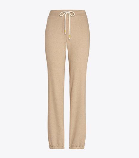 Cotton Terry Melange Sweatpants
