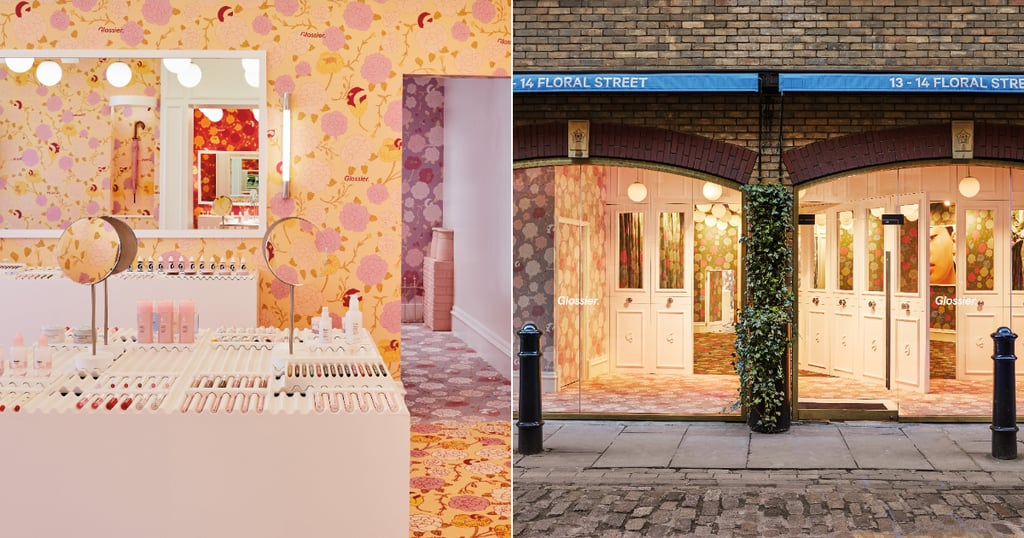 Glossier London Pop-Up Details and Photos