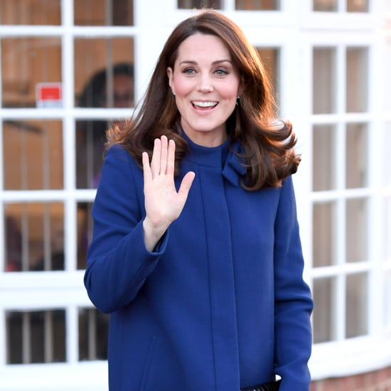 Kate Middleton Gets Heel Stuck in a Grate February 2018