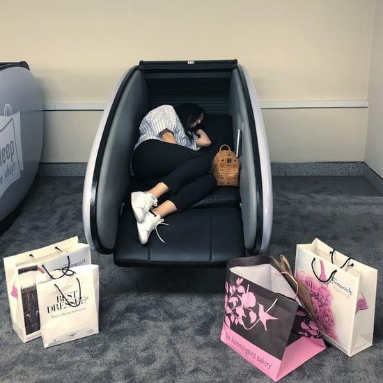 كبائن النوم في دبي مول