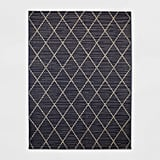 Indoor/Outdoor Diamond Woven Rug