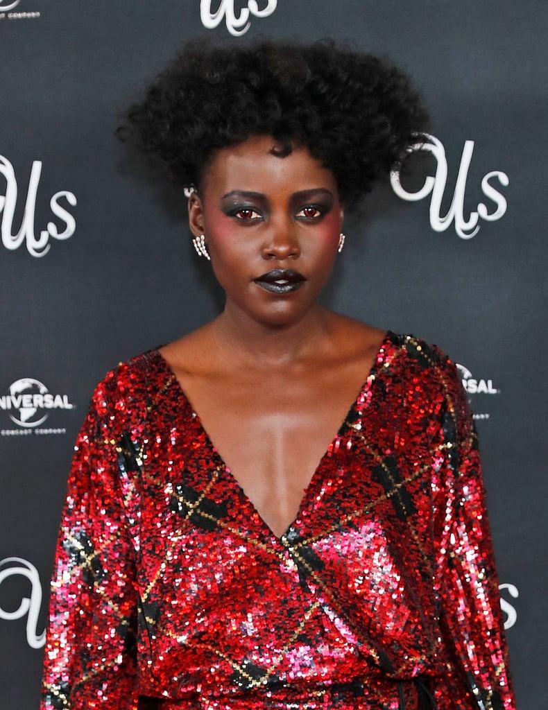 Lupita Nyong O Makeup At Us London Screening Popsugar Beauty Australia Photo 8