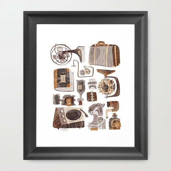 Art print 27 midcentury modern decor gifts popsugar for Modern home decor gifts