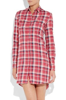 Levi's Made & Crafted Check Shirt Dress ($225)