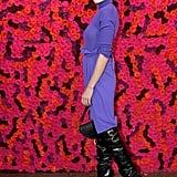 Olivia Culpo at Alice + Olivia Fall 2019