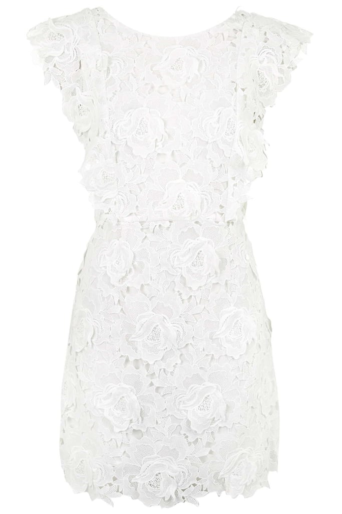 Topshop Scallop Lace Dress ($160)