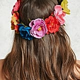 Rainbow Flower Crown ($9)