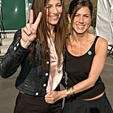 Jennifer was all smiles with her longtime friend Catherine Keener at the Independent Spirit Awards back in March 2003.