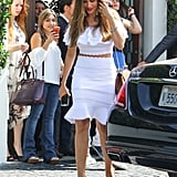 Sofia Vergara's Alexander McQueen Outfit June 2016