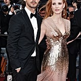 Jessica Chastain and Shia LaBeouf paired up at the premiere of Lawless at the Cannes Film Festival in 2012.