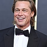 Brad Pitt at the 2020 Golden Globe Awards