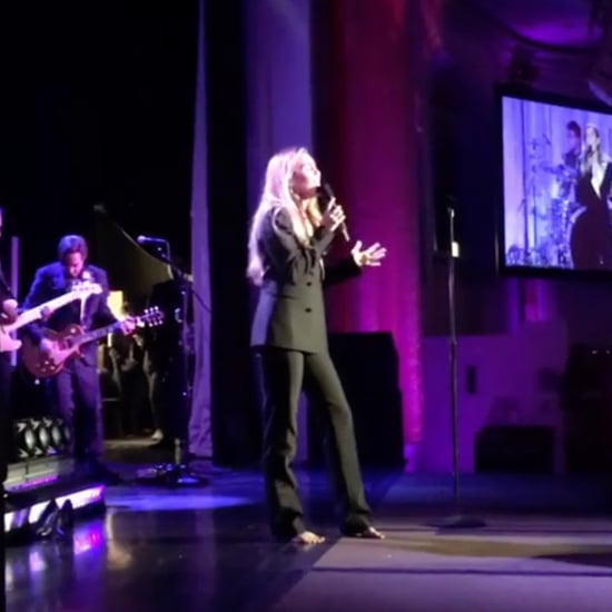 "Miley Cyrus Sings ""The Climb"" at Cancer Research Event Video"