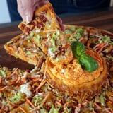 Volcano Buffalo Chicken Pizza