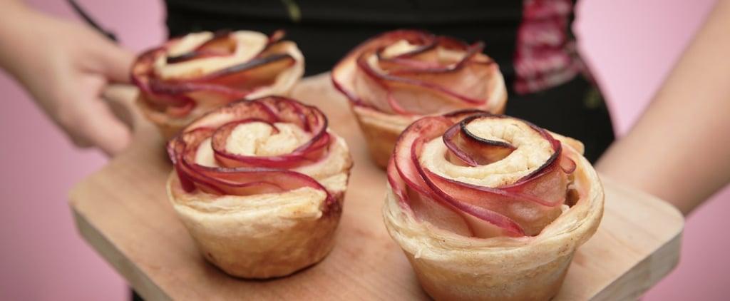 Satisfy Pie Cravings With Low-Sugar Apple Roses