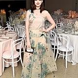 Anne Hathaway Wearing Dior Spring '17