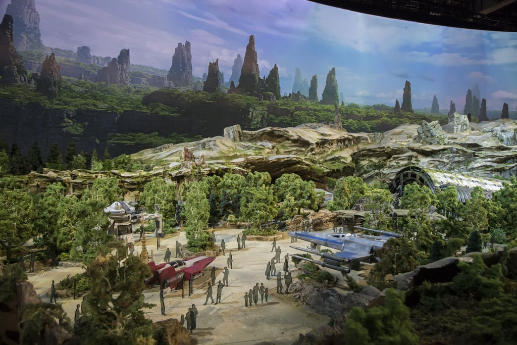 Artist Concept Drawings of Star Wars: Galaxy's Edge