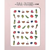 HartlandBrooklyn Fruit & Veggie Nail Tattoos