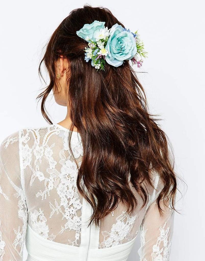 Asos Bridal Mid Flower Hair Corsage ($25)