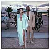 Kim Kardashian and Kanye West Wedding Pictures 2014