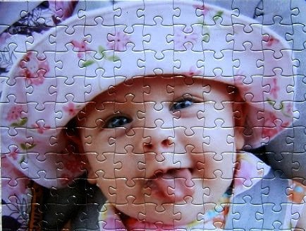 For the Puzzle-Enthusiast Grandparents: Custom Photo Puzzle
