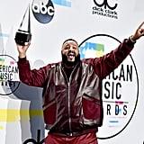 DJ Khaled at the 2017 American Music Awards