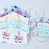 Washable Matching Kid And Doll Protective Face Mask Sets