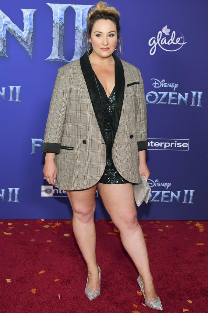 Emma Hunton at the Frozen 2 Premiere in Los Angeles