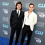 Dacre Montgomery Ditches His Stranger Things Mullet For the Critics' Choice Awards