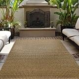 Towerside Brown Indoor/Outdoor Area Rug
