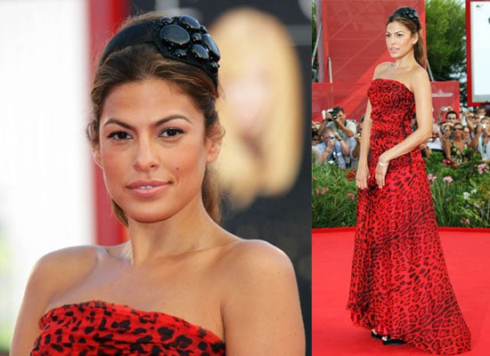 Photos of Eva Mendes at the 2009 Venice Film Festival