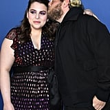Jonah Hill and Beanie Feldstein at the LA Screening of Booksmart in 2019