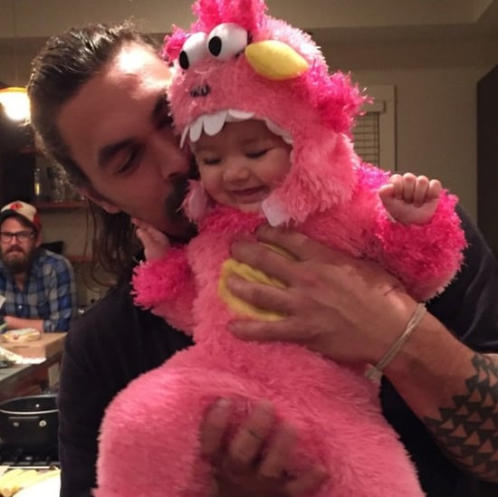 Pictures of Jason Momoa With Babies