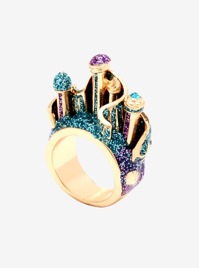 Her Universe Disney The Little Mermaid Triton's Palace 3D Ring
