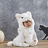 Baby White Kitty Costume