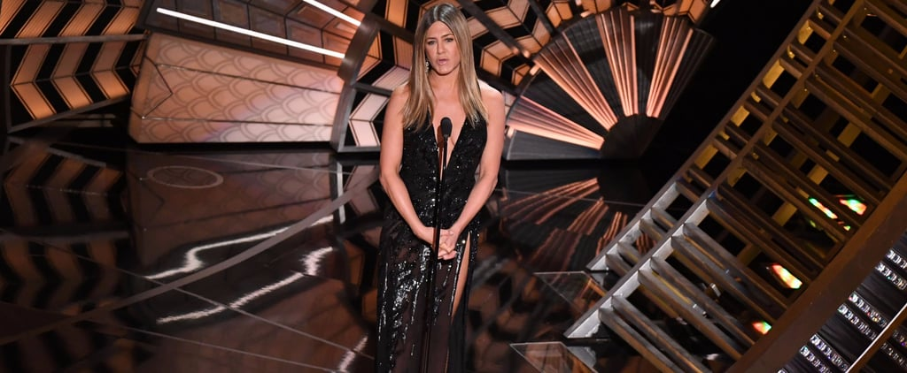 Jennifer Aniston Skipped the Red Carpet, but Showed Up at the Oscars Looking Sexier Than Ever